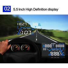 Cool Car HUD Host Head Up Display Over Speed Warning Windshield Project System