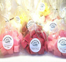 Soy Tarts Candle Wax Melts Chunks Chips 4 packs for Warmers Burners Fragrance