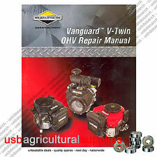 BRIGGS & STRATTON VANGUARD OHV ENGINE REPAIR MANUAL 272144 NEXT DAY DELIVERY