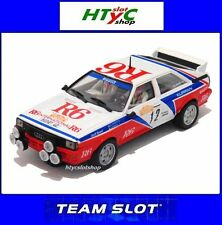 TEAM SLOT AUDI QUATTRO GR.4 #12 RALLY SAN REMO 1982 CINOTTO / RADAELLI 1012204