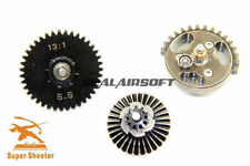 Super Shooter Steel 13:1 Super High Speed Gear Set for Airsoft AEG Gearbox V2/3