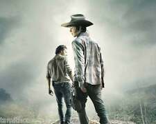 The Walking Dead Chandler Riggs Andrew Lincoln 8x10 Photo 063