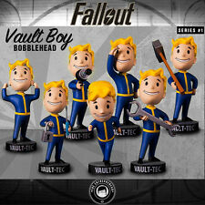 Fallout 4 Bobble head NEW FULL SET series 1 Vault Boy Bethesda USA bobblehead