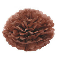 "10"" Tissue Paper Pom Poms Flower Ball Wedding Birthday Party Decoration Color 16"