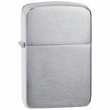 "Zippo ""1941 Replica"" Lighter, Brushed Chrome Finish, Full Size, 1941"