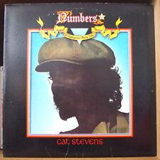 CAT STEVENS NUMBERS US PRESS LP ISLAND 1975