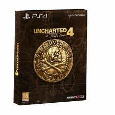 UNCHARTED 4 un ladro's End Special Edition Ps4 Gioco Nuovo di Zecca