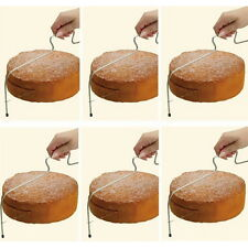 Adjustable Wire Cake Slicer Cutter Leveller Decorating Bread Wire Decor Tool FT