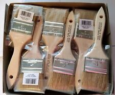 "Box of 432 2"" Chip Brush Brushes Natural Bristle Adhesives Paint Touchups 2 Inch"
