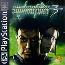 Syphon Filter 3 - PS1 PS2 Playstation Game