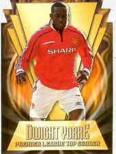 2000 Merlin Premier Gold Soccer Magic Moment Die Cut C5 Dwight Yorke