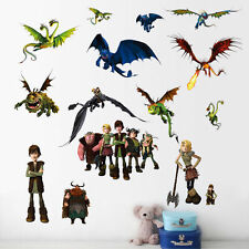 How To Train Your Dragon Wall Sticker Removable Mural Children Room Decor Decals