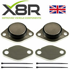 For Jaguar S Type TDV6 2.7 EGR Removal Blanks Kit Remove Blanking Blank Plates