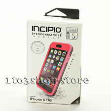 Incipio Performance Level 5 Hard Case w/Holster for iPhone 6 iPhone 6s Pink/Gray