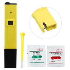 Digital Ph Meter Conductivity Portable Pool Tester Hydroponics Aquarium