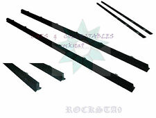 SUZUKI SJ413 SJ410 JA51 DOOR OUTER FELT WEATHER STRIP WHISKER PAIR SAMURAI JIMNY