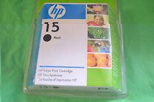 Tinta negra genuina Original HP 15 C6615De fecha 2009