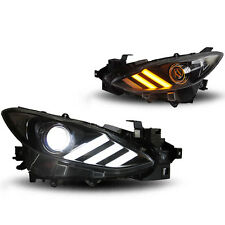 For 2014-2016 Mazda 3 Sedan Hatchback Projector Headlight Assembly HID Headlamp