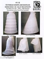 Civil War, Victorian Hoops & Bustles size 4-36 Laughing Moon Sewing Pattern 112