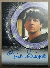 Stargate SG-1 Autograph Card - A99 Tim Guinee (Tomin)