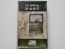 "LED ZEPPELIN ""ZOSO"" ""IV"" CASSETTE BLACK DOG STAIRWAY TO HEAVEN ROCK N ROLL"