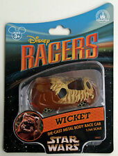 DISNEY RACERS STAR WARS WICKET - RENNWAGEN CAR 1:64 - DISNEY WORLD OVP - SELTEN