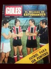 FOOTBALL LIBERTADORES CUP 1971 - NACIONAL vs ESTUDIANTES - Goles Magazine