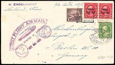 #571 ON LZ127 FIRST FLIGHT AIRMAIL COVER USA TO GERMANY OCT 28,1928 BT5826