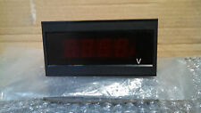 ASAHI KEIKI 3 1/2 Digit LED Display Volt Meter Transducer Transmitter