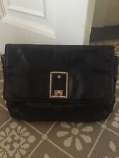 Marc JACOBS occhiali neri in pelle clutch bag