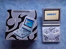 CONSOLE NINTENDO GBA GAME BOY ADVANCE SP TRIBAL MODELLO AGS 101 RETROILLUMINATO