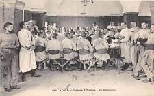 CPA ALGER CASERNE D'ORLEANS UN REFECTOIRE