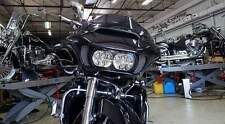 Superior Quality Chrome Mesh Fairing Vent Screen - Harley Road Glide 2015+