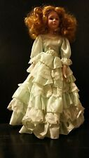 HOUSE OF LLOYD BEAUTIFUL PORCELAIN VICTORIAN DOLL 1991