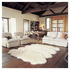Genuine Real Australian Octo Eight Pelt Extra Large Sheepskin Rug