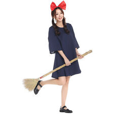 Halloween cosplay Kiki's delivery service for women costumes fancy dress Maid