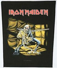 OFFICIAL LICENSED - IRON MAIDEN - PIECE OF MIND BACK PATCH METAL EDDIE