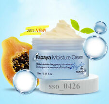 Hydra Papaya Moisture Cream 30ml, with Aloevera, Blueberry, Made in korea