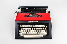 BLACK&RED OLIVETTI LETTERA 25 - Portable working typewriter