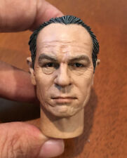 "CUSTOM 1:6 Tommy Lee Jones Head Sculpt Model FIT 12"" Hot toys Figure Body"