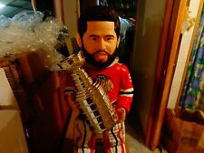 COREY CRAWFORD (LOW#2/50)CHICAGO BLACKHAWKS 3 FOOT BOBBLE FOREVER