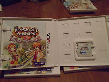 Harvest Moon 3D: The Tale of Two Towns Nintendo 3DS COMPLETE HARD TO FIND RARE