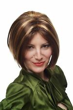 Carnival Wig Short Centre parting Brown Blonde strands 7062-P6-27