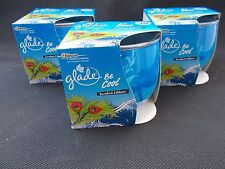 3 X GLADE CANDLES. LIMITED EDITION BE COOL