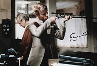 EDWARD FOX In Person Signed 12x8 Photo THE DAY OF THE JACKAL COA