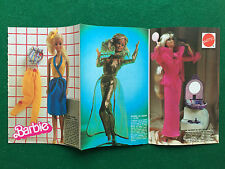 PB71 Pubblicità Advertising Clipping 19x13 cm MATTEL BARBIE CATALOGO pieghevole