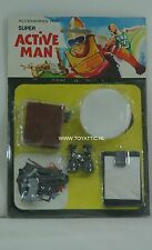 Super Active man Ken sized military accessory set for action figures New