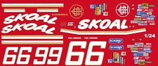 #66 Phil Parsons SKOAL Oldsmobile 1/25th - 1/24th Scale Waterslide Decals