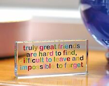 Spaceform Truly Great Friends Token Friendship Gift Ideas for Her Birthdays 1513
