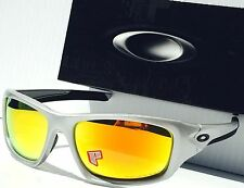 NEW* Oakley VALVE POLARIZED Fire Iridium Lens In Silver Sunglass 9236-07 $240